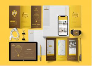 dịch vụ thiết kế bộ nhận diện thương hiệu tại sundigi