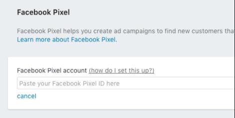 Pixel Facebook chèn vào shopify